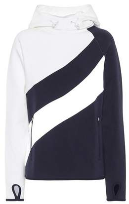 Tory Sport Hi-Vis cotton hoodie