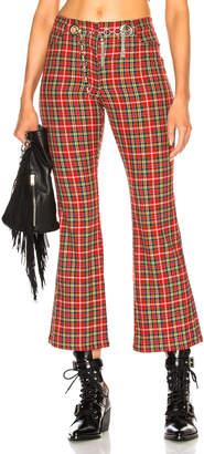 Morgan Miaou Pant with Circular Tassel Belt