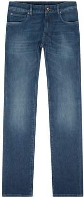 Pal Zileri Washed Denim Jeans