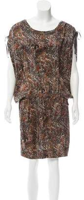 Etoile Isabel Marant Oversize Knee-Length Dress