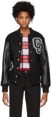 Opening Ceremony Black OC Varsity Jacket