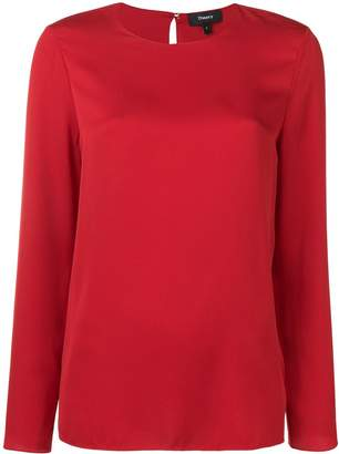Theory longsleeved blouse