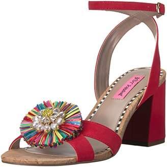 Betsey Johnson Women's Asha Heeled Sandal
