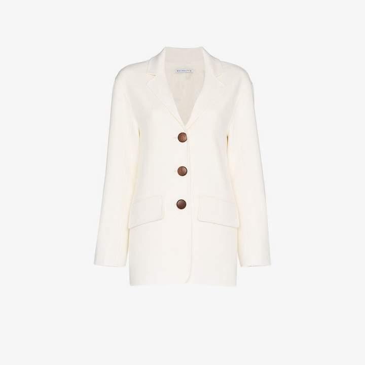 Rejina Pyo Collared Wool Blazer