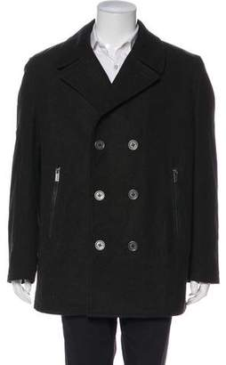 Michael Kors Wool-Blend Peacoat w/ Tags