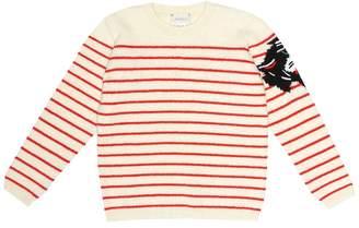 Gucci Kids Striped intarsia wool sweater