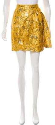 3.1 Phillip Lim Brocade Mini Skirt
