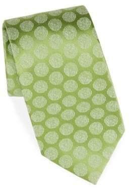Charvet Silk& Linen Moon Tie
