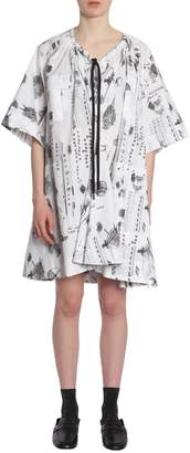 Carven Dress With Drawstring