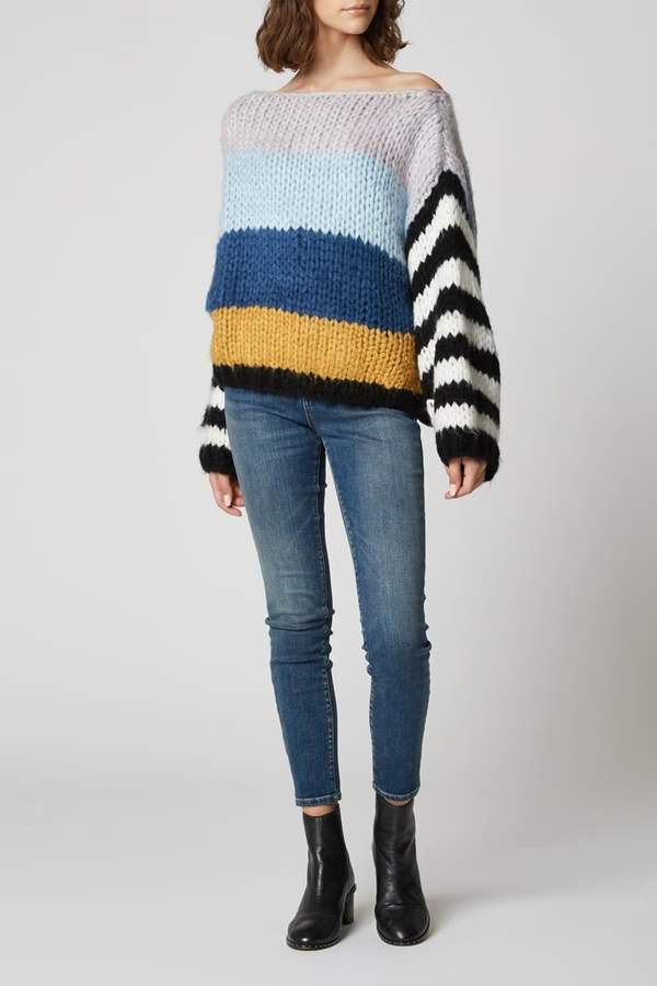 Mixed Signals Sweater