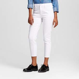 Mossimo Women's High Rise Jegging Crop - Mossimo White $29.99 thestylecure.com