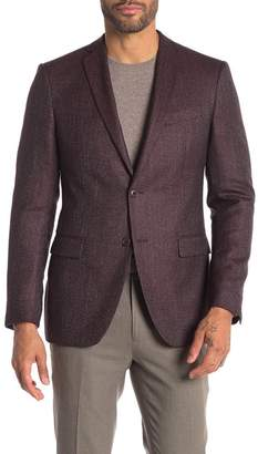 John Varvatos Bedford Wool Blend Suit Jacket