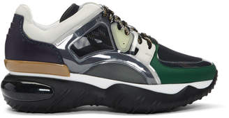 Fendi Multicolor Translucent Vinyl Sneakers