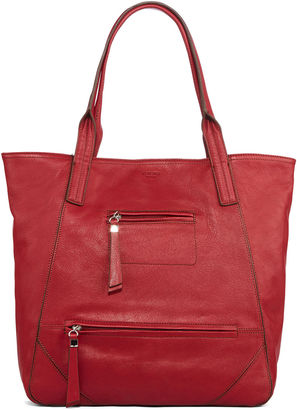 PERLINA Perlina Amsterdam Leather Tote Bag $119.40 thestylecure.com