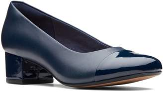 Clarks Collection By Chartli Diva Leather Pumps