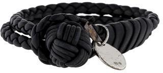 Bottega Veneta ntrecciato Nappa Bracelet $175 thestylecure.com