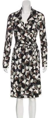 Diane von Furstenberg New Jeanne Two Silk Dress