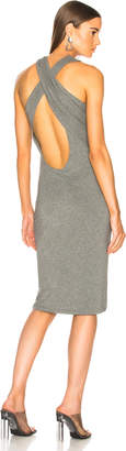 Alexander Wang Crisscross Drape Dress