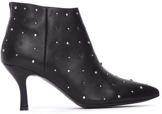 Janet & Janet Miranda Black Ankle Boots