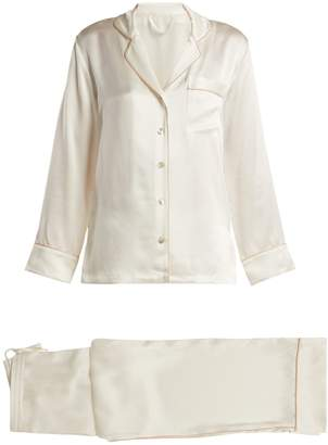 Fleur of England Signature silk pyjama set