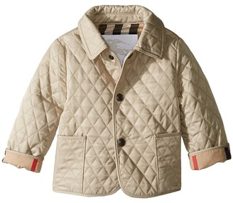 Burberry Kids - Colin Coat Kid's Coat $185 thestylecure.com