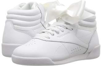 Reebok Kids F/S Hi Satin Bow Girls Shoes