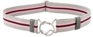 Prada 2017 Striped Belt