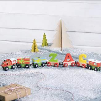 The Letteroom Personalised Christmas Name Train