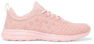 APL Athletic Propulsion Labs Techloom Phantom 3d Mesh Sneakers - Pink