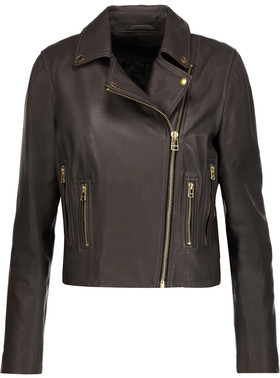 Muubaa Harrier Leather Biker Jacket $445 thestylecure.com