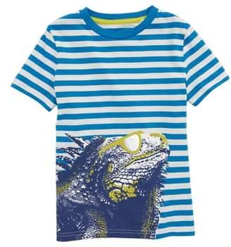 Boden Mini Arty Iguana T-Shirt