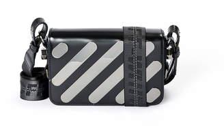 Off-White Off White Metal Diagonal Square Mini Flap Bag