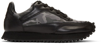 Comme des Garcons Black Spalwart Edition New Tempo Camo Sneakers