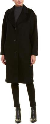 Velvet by Graham & Spencer Long Wool-Blend Coat