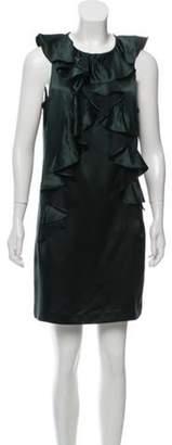 Milly Wool-Blend Sleeveless Dress w/ Tags wool Wool-Blend Sleeveless Dress w/ Tags
