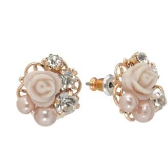 Lauren Conrad Flower Stud Earrings
