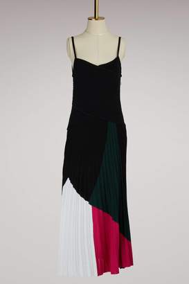 Proenza Schouler Colorblock Knit Dress