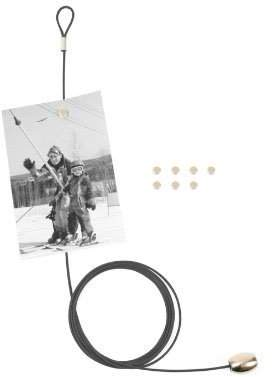 Kikkerland Photo and Card Holder with 8 Magnets