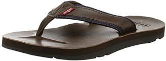 Levi's Men's Jurupa flip Flops, Brown (Marron), 6 UK