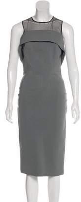 David Koma Bodycon Midi Dress