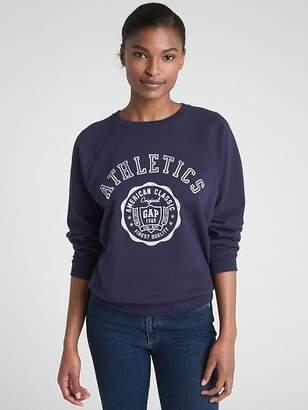 Gap Vintage Soft Logo Graphic Pullover Sweatshirt