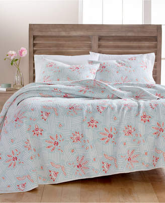 Martha Stewart Collection Stitchcraft Cotton Full/Queen Quilt