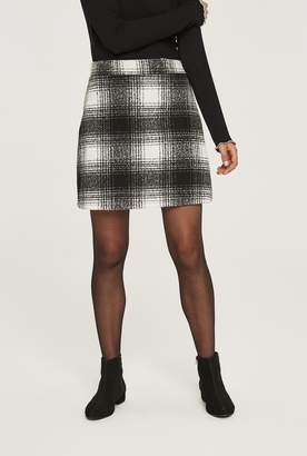 02a5b063f5f7 Black And White Check Skirt - ShopStyle UK