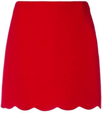 Miu Miu scalloped mini skirt