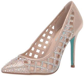 f6ff9f3a6ac Betsey Johnson Blue Women s SB-Mella Pump