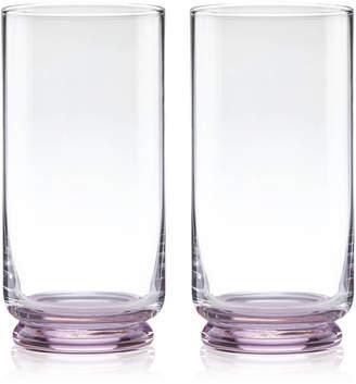 Kate Spade Charles Lane Highball Glasses, Set of 2
