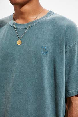 Comfort Colors Embroidered Smile Tee