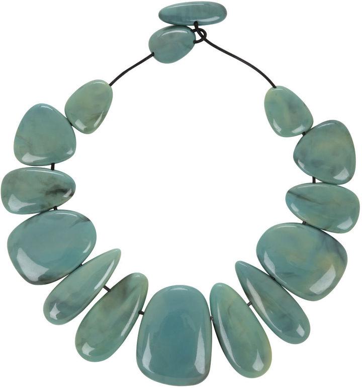 BCBGMAXAZRIA Oversized Bead Necklace