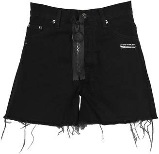 Off-White Off White Flowers Shorts 5 Pockets
