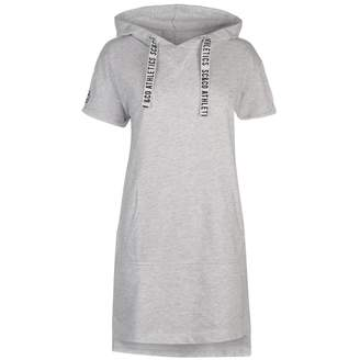 Soul Cal SoulCal Womens Hooded Drs Mini Dress